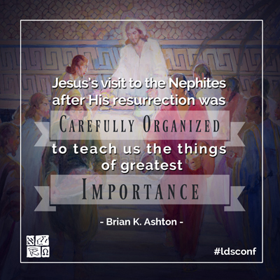 Quote from Elder Brian K. Ashton's October 016 General Conference Address. Image by Book of Mormon Central.