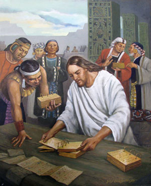 Jesucristo revisa las planchas by Jorge Cocco