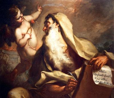 The Prophet Isaiah by Antonio Balestra