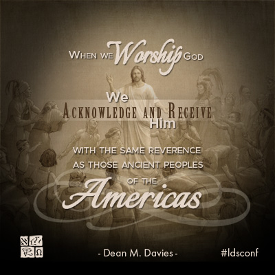 Quote from Dean M. Davies in his October 2016 General Conference address.