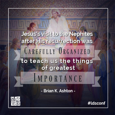 Quote from Brian K. Ashton's October 2016 General Conference Address