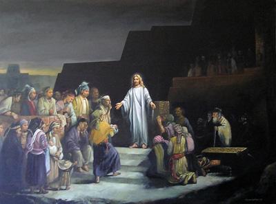 Cristo en America by Jorge Cocco