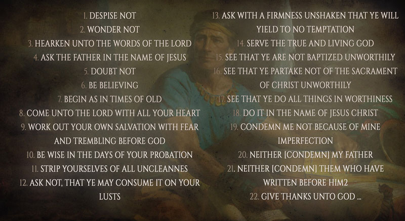 22 Commands by Book of Mormon Central