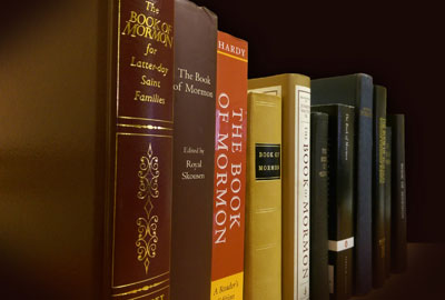 Copies of the Book of Mormon by Book of Mormon Central