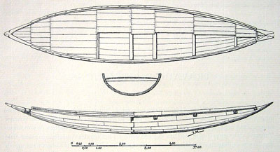 An Egyptian style magur boat, what Hugh Nibley proposed could be the style for Noah's ark and the Jaredite barges. Image from moriancumr2.blogspot.com