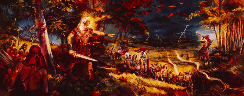 Nephites' Final Battle by Dale T. Kilbourn