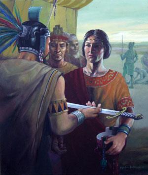 Joven capitan Mormon by Jorge Cocco