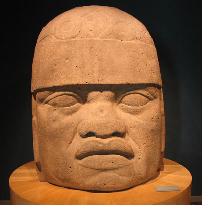 Olmec kings posited themselves as both political and religious leaders, like Riplakish. Image via Wikimedia Commons.
