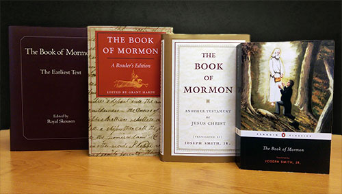 The Book of Mormon has been published by various respectable presses, including Yale, Chicago, Doubleday, and Penguin. Image by Book of Mormon Central.