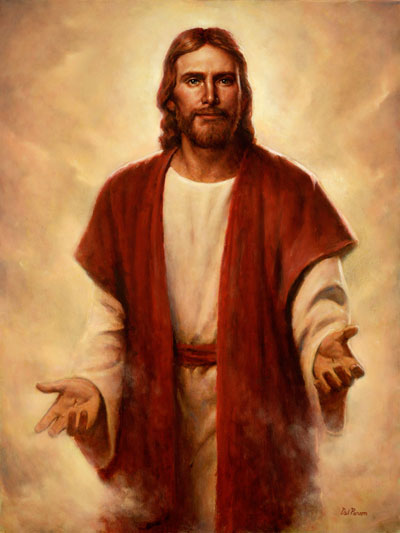 The Lord's hand of mercy is extended to us still. Hope in the Second Coming by Del Parson.