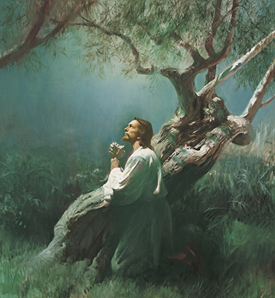 Jesus Praying in Gethsemane by Harry Anderson