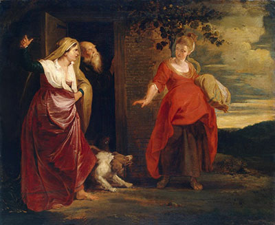 Hagar Leaves the House of Abraham by Peter Paul Rubens