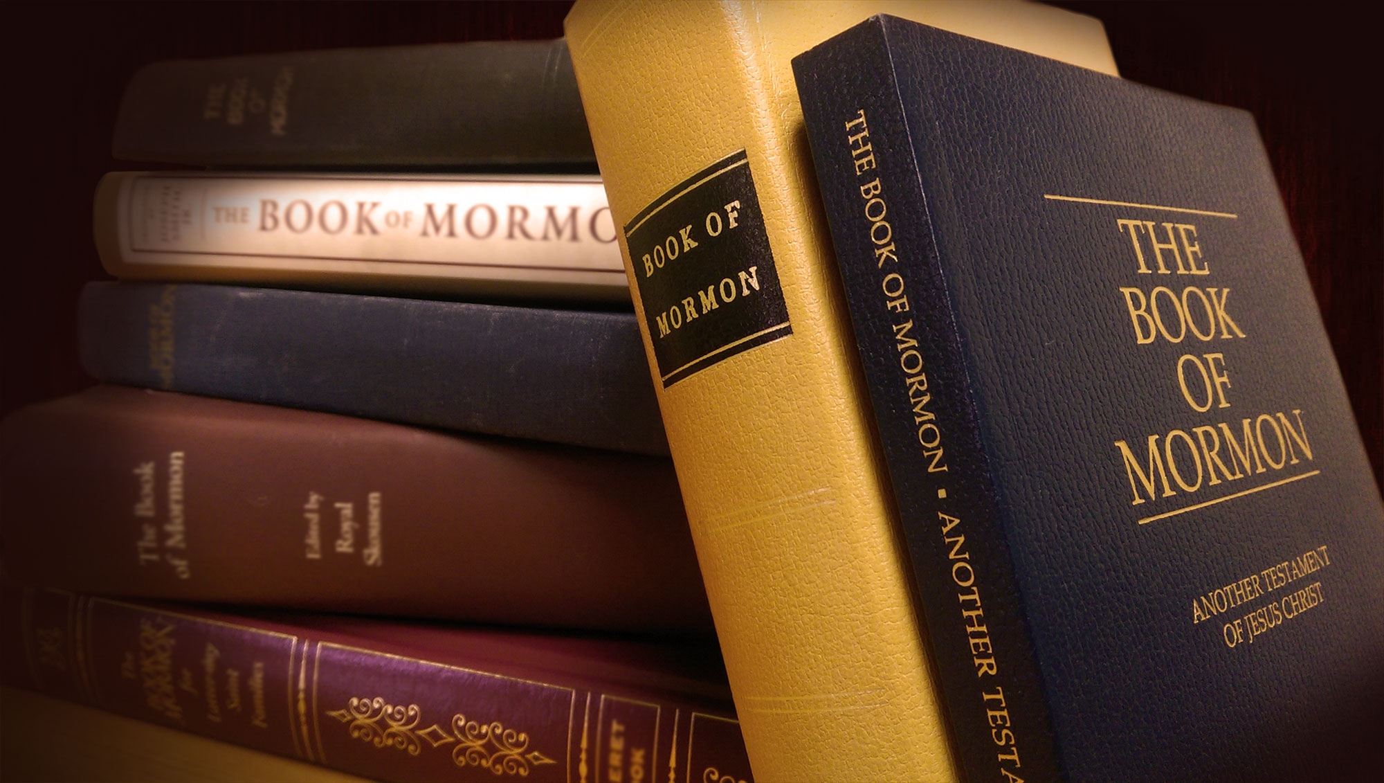 Copies of the Book of Mormon. Image by Book of Mormon Central