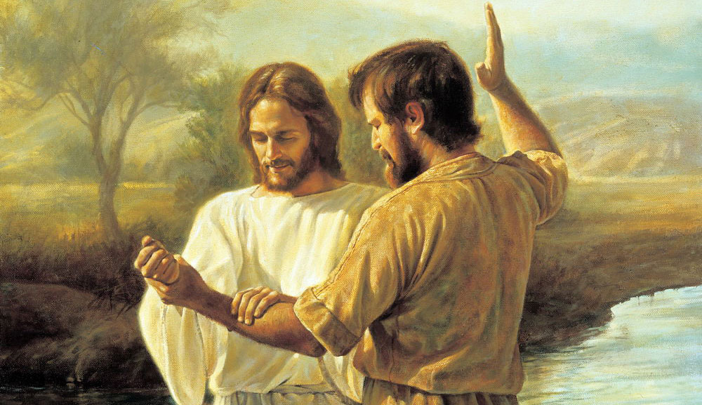 John The Baptist And Jesus Lds