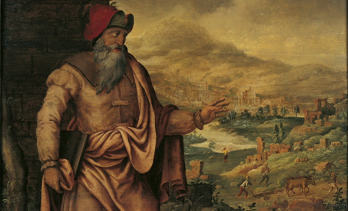 "Maarten van Heemskerck's ""The Prophet Isaiah Predicts the Return of Jews After Exile."" Image Via WikiCommons."