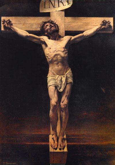 The Crucifixion by Leon Bonnat. Image via Wikipedia.