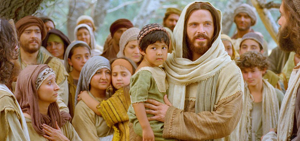 Image of JEsus Christ and children from lds.org
