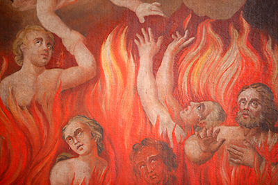 The Fire of Hell by Unknown Artist