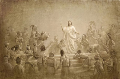 Jesus Christ in the Americas by Joseph Brickey