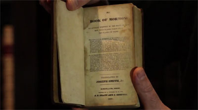 An 1837 edition of the Book of Mormon