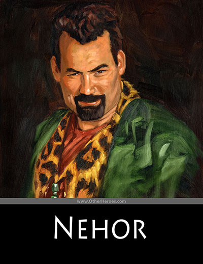 Painting of Nehor by James Fullmer.