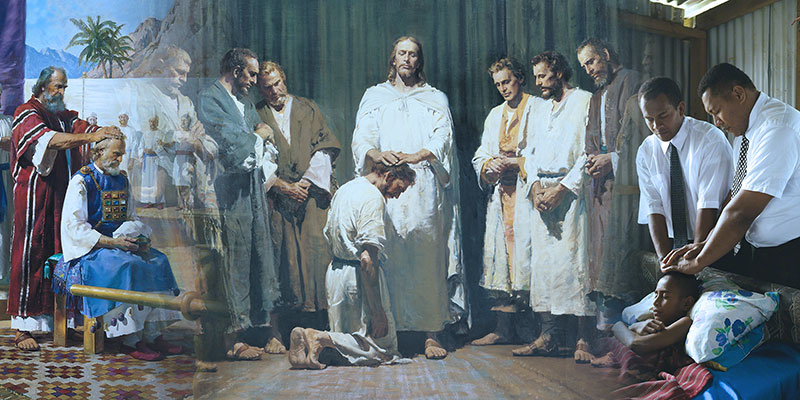 God's priesthood authority has been on the earth throughout various dispensations. Images via lds.org