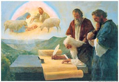 The Prophet Isaiah Foretells Christ's Birth by Harry Anderson.