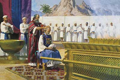 Alma taught about the importance of the high priest. Moses Calls Aaron to the Ministry by Harry Anderson.