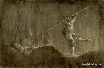 Teancum by Joseph Brickey
