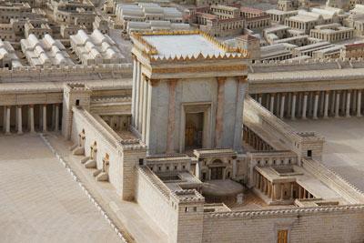 Model of Herod's Temple.
