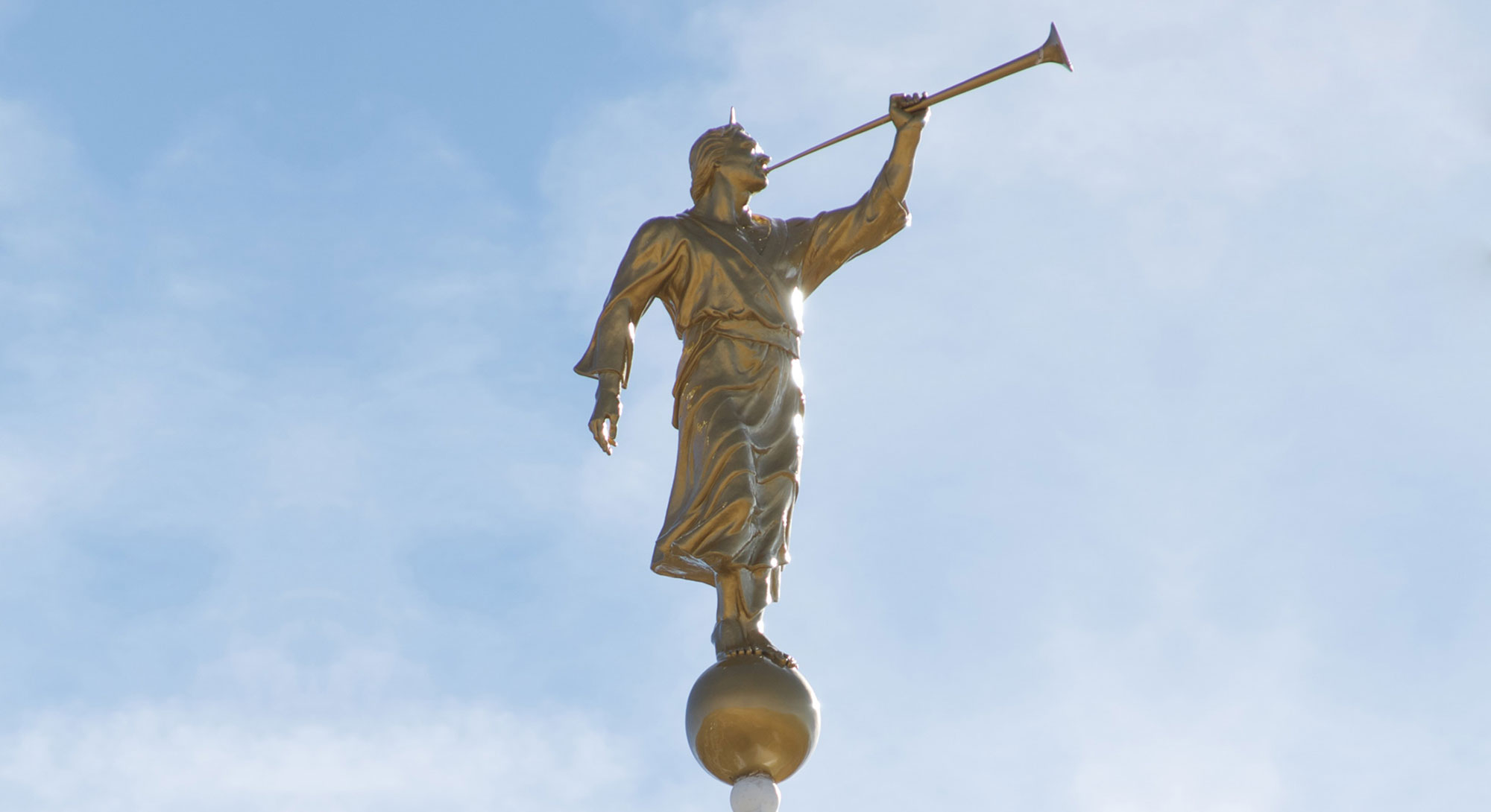 Reno Nevada Temple Angel Moroni