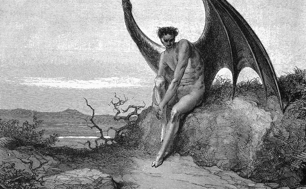 an analysis of the devil in paradise lost by john milton Paradise lost by john milton home / literature / paradise lost / paradise lost analysis literary devices in paradise lost symbolism, imagery, allegory paradise lost is about adam and eve's loss of paradise their eating of the forbidden fruit has often been called the fall.