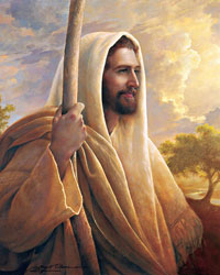 Painting of Christ by Greg Olson