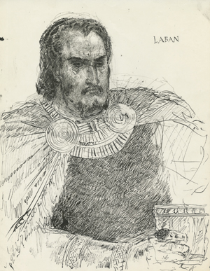 Study of Laban by Arnold Friberg