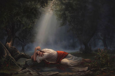 Gethsemane by Adam Abrams