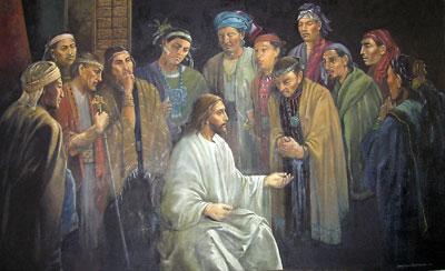 Cristo con los 12 by Jorge Cocco