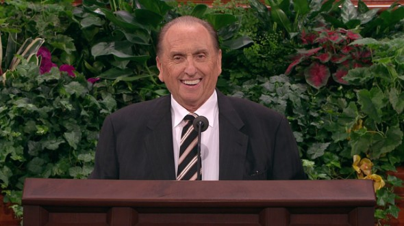 President Thomas S. Monson. Image via lds.org