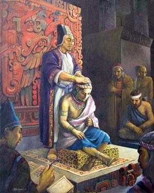 Alma confiere el sacerdocio by Jorge Cocco
