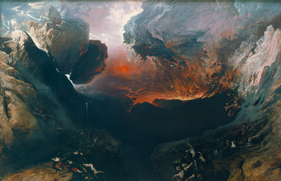 The Great Day of His Wrath by John Martin. Image via Wikimedia Commons