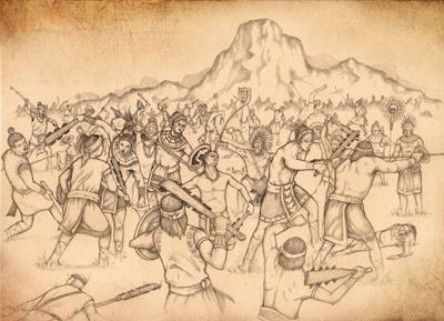 The Final Nephite Battle by Jody Livingston