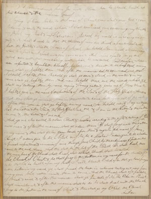 Original manuscript from the Articles of the Church of Christ via josephsmithpapers.org