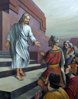 Cristo en America 2 by Jorge Cocco