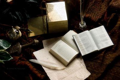 Book of Mormon Still Life by James Fullmer