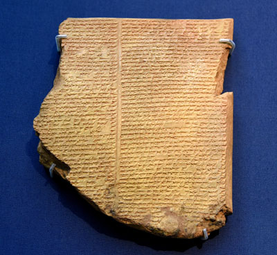 Chiasmus can be found in many texts from the ancient Near East, the Bible, and Book of Mormon, and even modern literature. Image of the Flood Tablet of the epic of Gilgamesh. Image via Ancient History Encyclopedia.