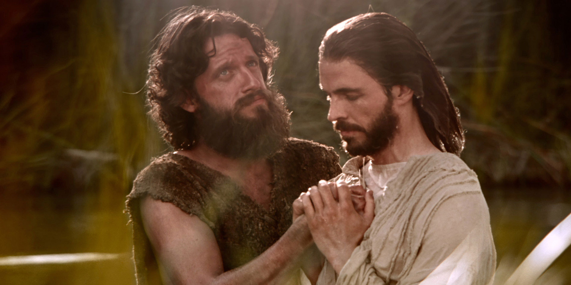 "Still Image from ""The Baptism of Jesus"" via LDS Media Library"