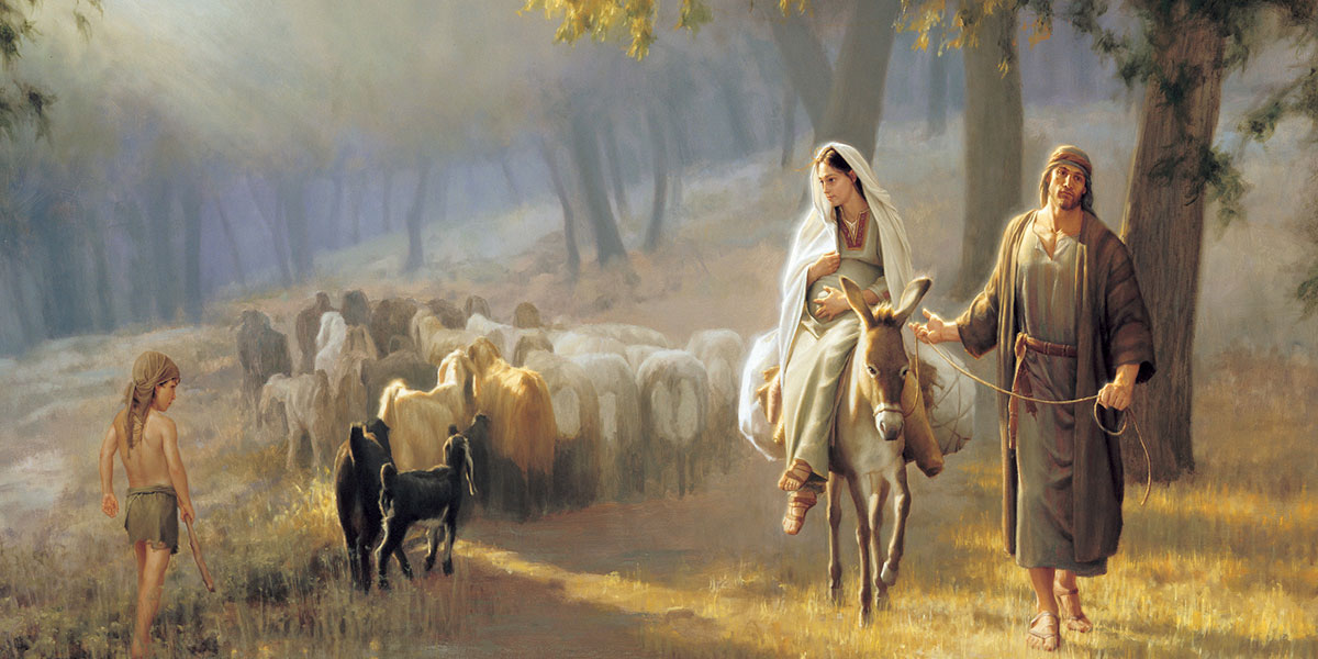 The Road to Bethlehem by Joseph Brickey