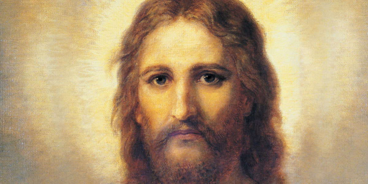 Christ's Image by Heinrich Hofmann via lds.org