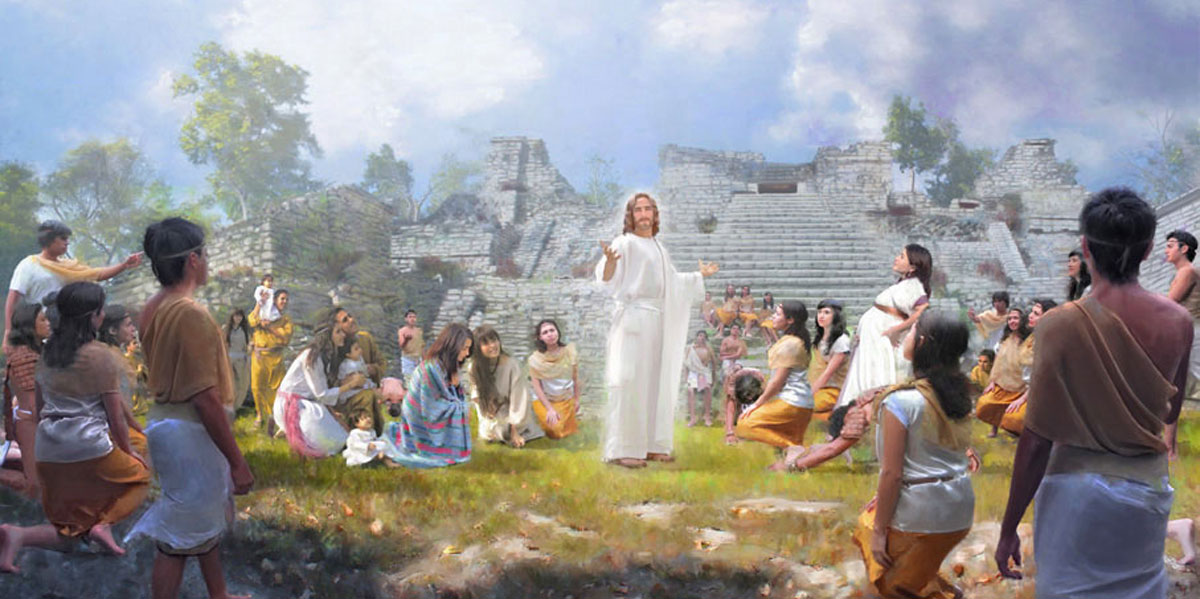 Why did the lord quote the book of mormon when reestablishing the christ and the nephites by john zamudio malvernweather Choice Image