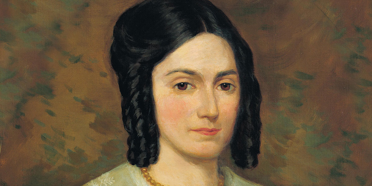 Image of Emma Smith via lds.org