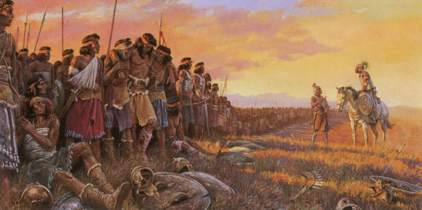 It's True, Sir, All Present and Accounted For, by Clark Kelley via lds.org